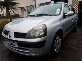 Renault Clio Expression hatchback. Great condition, well maintained car