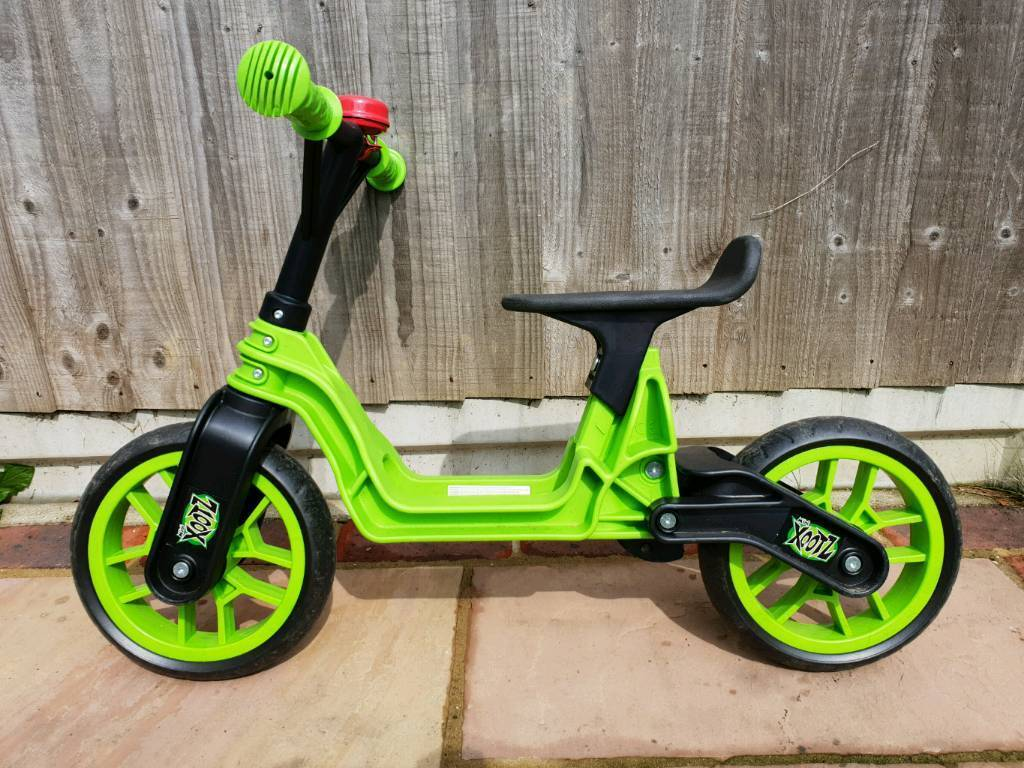 05cab414ab9 Xootz Toddler Kids Boys Folding Training Balance Bike - Green | in ...