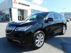 2016 Acura MDX Elite Package **AWD/4X4**7 PASS**DVD**GPS/NAVI