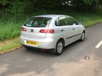 Late 2004 SEAT Ibiza 1.2S 5dr NEW TIMING CHAIN JUST FITTED TRADE IN CONSIDERE...