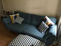 4 seater French Connection sofa