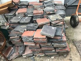 Black and Terracotta Quarry Tiles