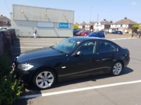 Black BMW 3 Series, Very Good Condition
