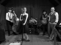 Sassy, Swing Jazz Band Available May 26th / 27th: North Somerset