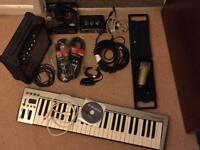 Recording equipment bundle