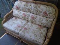 2-SEAT WICKER SOFA at Haven Trust's charity shop at 247 Radford Road, NG7 5GU