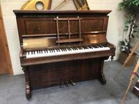 1880 John Brinsmead & Son's overstrung upright piano - CAN DELIVER