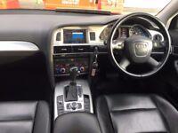 58 reg 2008 audi A6 2.0 TDI DIESEL LTD AUTOMATIC, MET BLACK, 130K F/S/H, HPI CLEAR 100%