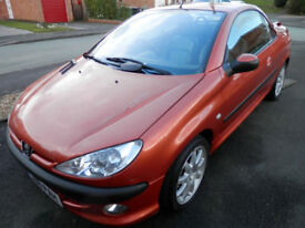 Peugeot 206cc Convertible 2001 On Private Plate, MOT Feb 2019, 83000 Miles, Nice Cond Good Driver