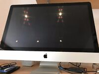 "Apple iMac 27"" 3.4 GHz Intel Core i7 Quad Core. 8Gb 1333 Mhz DDR3 AMD Radeon HD 6970M 1024 Graphics"
