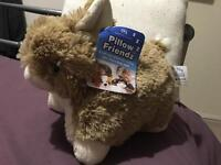 Pillow friendz - brown rabbot
