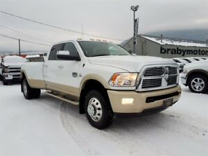 2012 Ram 3500 Crew Cab Laramie Longhorn Dually