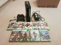 Xbox 360 Elite 120GB Console and Games
