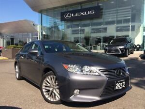 2013 Lexus ES 350 Technology Pkg Navi Back Up Cam Panoramic Sunr