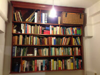 Beautiful handmade large solid Bookcase