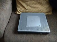 HP mini pc gd con windows xp 2 gig ram with leads £20