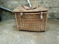 Vintage fishing basket