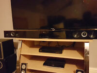 LG NB2420A Soundbar and VIBE Optisound 6 Inch TV Subwoofer 100W