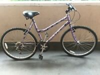 Ladies bike 18 speed Shimano gearing