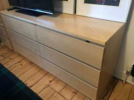 IKEA Malm 3-piece Bedroom Furniture Set