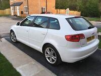 Audi A3 white 1.9tdi