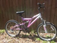 "20"" Girls Mountain Bike bicycle cycle"