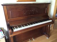 Upright piano no longer required. In good condition but may need tuning. Buyer collects.