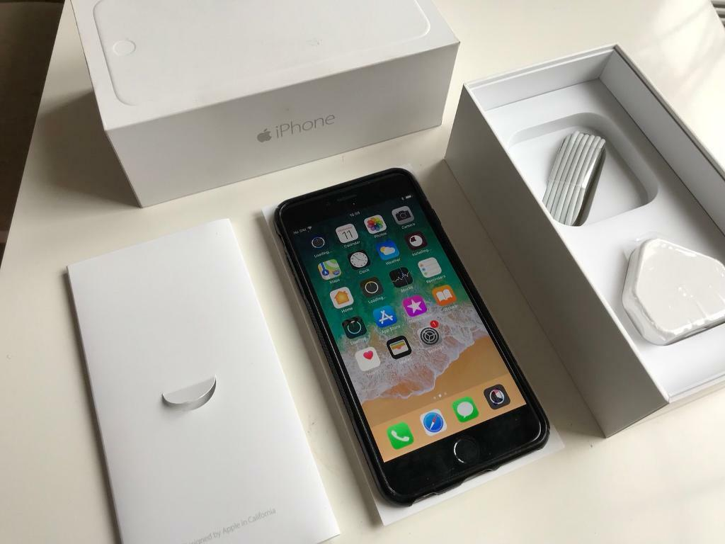 IPhone 6+ plus - 64gb - Unlocked - boxed - with case