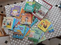 Read with Biff, Chip and Kipper books
