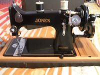 classic sewing machine by jones