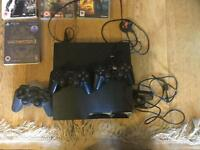 PS3 with 20 games, 3 controllers and PS move