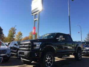 2015 Ford F-150 Lariat FX4 5.0L *Pano Roof* *Nav* *Loaded*