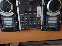 Numark CDJs and Gemini USB Mixer