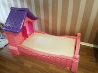 Little tikes girls bed For Sale