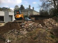 Digger and Grab Lorry Hire, Site Clearance, Excavations and Demolition