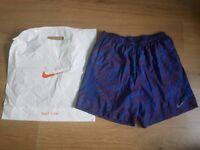 Nike large mens running shorts