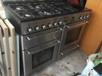 Tecnik range oven.. with hood..