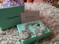 New stunning Tiffany bracelet & earrings