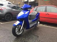 Honda Dylan Ses 125 (2004) perfect condition very fast bike 12 months mot