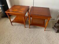 Side tables by Bradley