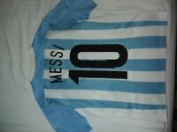 Argentina Messi Youth Football Shirt - Great Condition Bargain Age 11 - 12