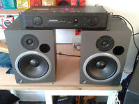 Event 20/20 Studio Monitors & Samson Servo 260 Reference Amp