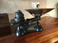 Vintage Kitchen Weylux Scales and weights