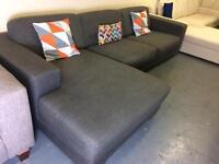 Grey Corner Sofa Danish Style