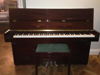 Excellent Condition 2009 Steinmayer Very Lightly Used. Bought New From Piano Showroom, Sole Owner