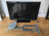 Sony bravia 32 inch lcd HD tv with stand and wall mount.