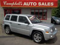 2008 Jeep Patriot SPORT/NORTH AUTOMATIC!! A/C!! CRUISE!! ALLOYS!