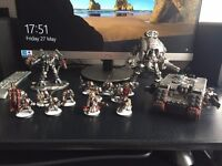 Warhammer 40k Grey Knight army with case and codexs