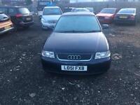 Audi A3 2001/51. 3 door sports Bargain
