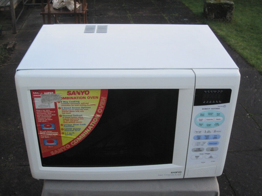 Sanyo Em D951 Combination Microwave Oven And Grill New Unused